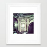 theater Framed Art Prints featuring Theater by Christine Eglantine