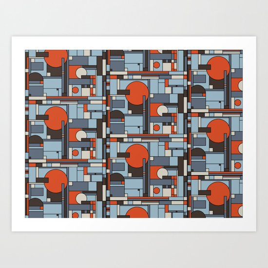 Calculated Art Print
