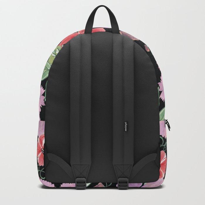 Floral pattern 8 Backpack