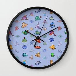 Funny Hats Wall Clock