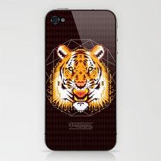 Geometric Tiger iPhone & iPod Skin