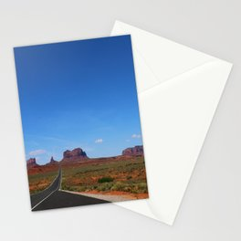 Traveling On Highway 163 Stationery Cards