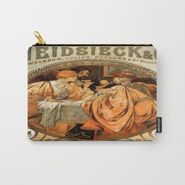 Vintage poster - Heidsieck and Co. Carry-All Pouch