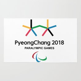 PyeongChang 2018 Logo 2 Rug