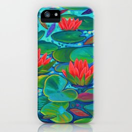 The Lilly Pad Life iPhone Case
