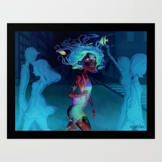water walker Art Print