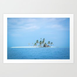 The San Blas Islands in Panama Art Print
