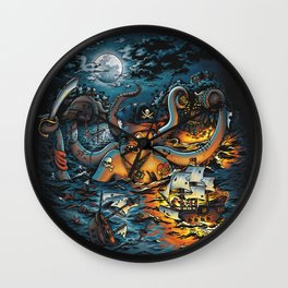 Out Arrr...med Wall Clock