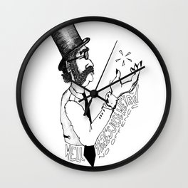 Well, that's just weird - no offence Wall Clock