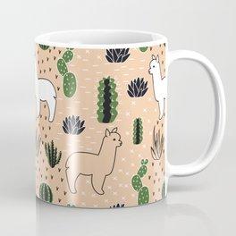 Alpaca&cactus Coffee Mug