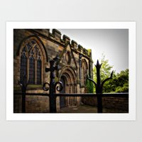 medieval Art Prints featuring Medieval by Barbara Gordon Photography