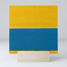 Untitled (Yellow and Blue) by Mark Rothko HD Mini Art Print