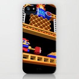 Inside Donkey Kong stage 2 iPhone Case