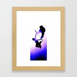 Free Fall II Framed Art Print