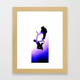 Free Fall II Framed Art Print