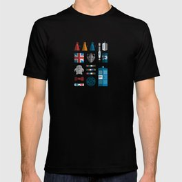 doctor who grid 1 T-shirt