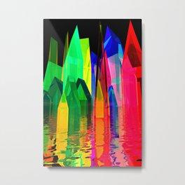 colorful village -1- Metal Print