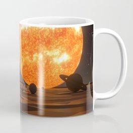 Solar System Art Coffee Mug