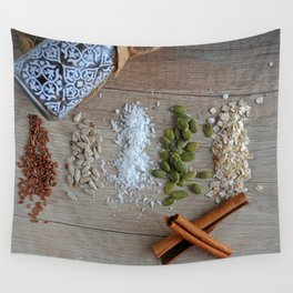 seeds and spices Wall Tapestry