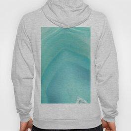 Geode Crystal Turquoise Hoody