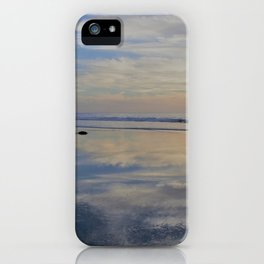 Beach with No Beginning  -   No End iPhone Case