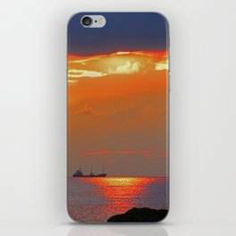 Calm after the storm iPhone Skin