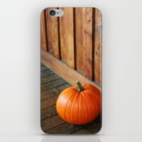 pumpkin iPhone & iPod Skins featuring Pumpkin by MSG Imaging