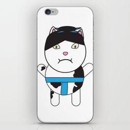 Sumo Kitty iPhone Skin