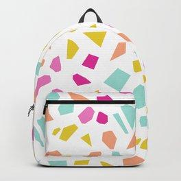 Bright Modern Terrazzo Vector Pattern Backpack