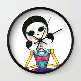 Romeo, oh Romeo - Dia de los Muertos Wall Clock