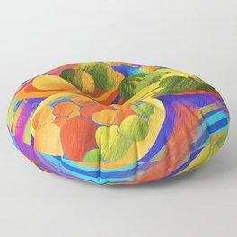 After The Market Floor Pillow