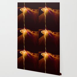Molten Lava Flow Wallpaper