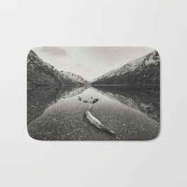 Glendalough Upper lake - Ireland (RR5) Bath Mat