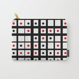 Dots in a grid Carry-All Pouch