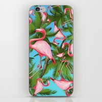 palm tree iPhone & iPod Skins featuring Palm tree by mark ashkenazi