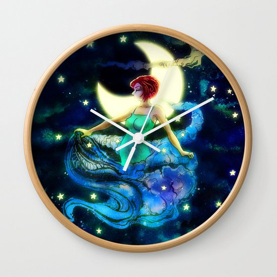 The Seamstress Wall Clock