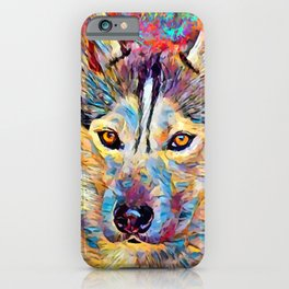 Husky 6 iPhone Case