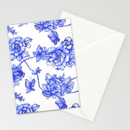 Chinoiserie Floral Stationery Cards
