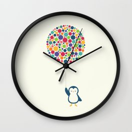 Float In The Air Wall Clock