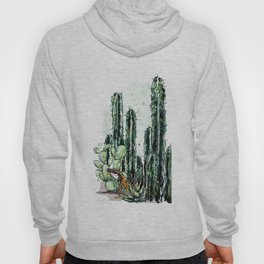 Cactus Long and a friend Hoody