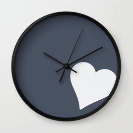 Single Heart Wall Clock