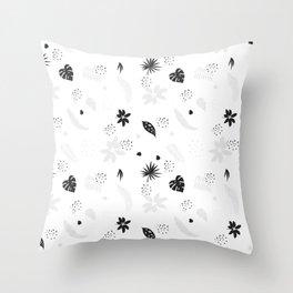 The Wild Jungle Pattern #2 Throw Pillow