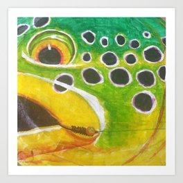 Eye on the Fly Art Print