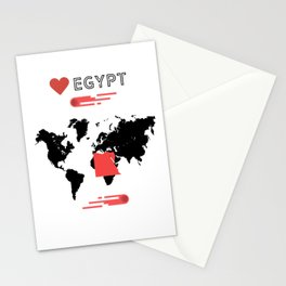 Love Egypt Stationery Cards