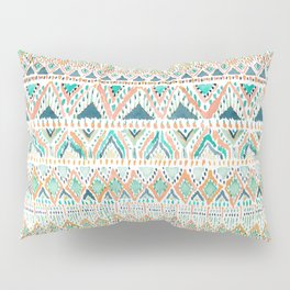 BALLIN' TRIBAL Boho Summer Geometric Pillow Sham