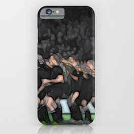Rugby HAKA - AB's iPhone Case