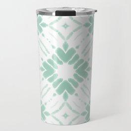 Watercolor Shibori Sea Salt Travel Mug