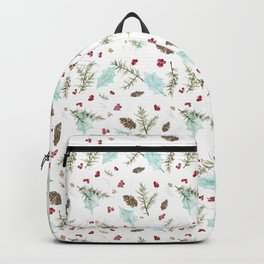Pinecones and Berries Backpack