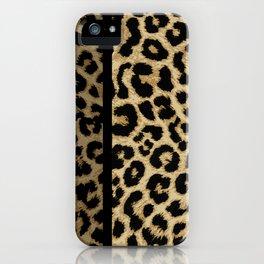 CLASSIC LEOPARD SKIN iPhone Case