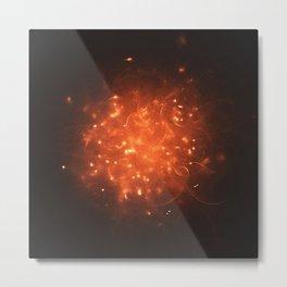 Stellar Fireball Metal Print